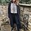 Thumbnail: Malissa j - knitted duster coat