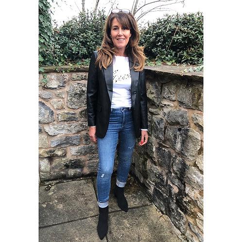 Vero Moda - Faux leather blazer