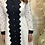 Thumbnail: Jovonna - OPERA lace effect panel shirt dress