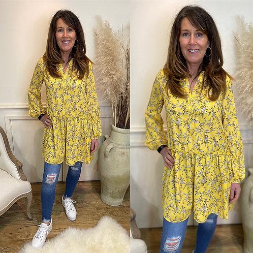 Floral prairie dress/tunic