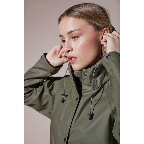 ICHI - Khaki raincoat