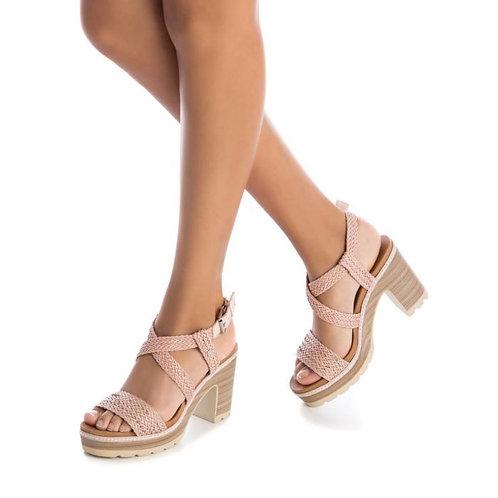 Carmela - Woven strap sandals - Pale Pink