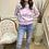 Thumbnail: Mix pastel camo print jumper