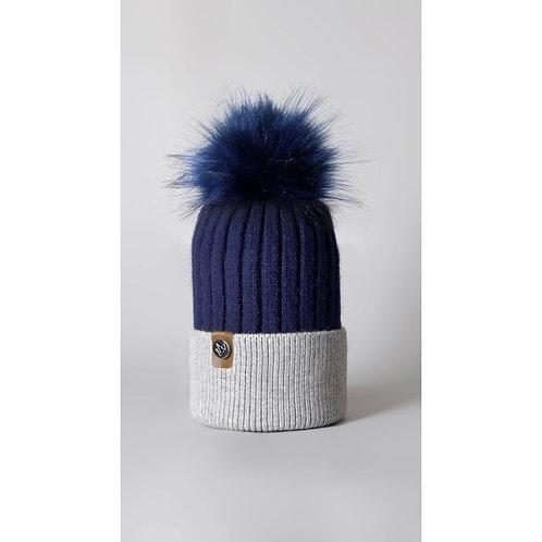 Luxy London - HARLEY 2 tone Pom Pom hat