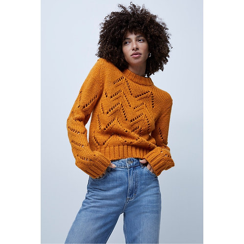 French Connection - Chunky cut out jumper