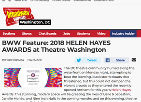 BWW Feature: 2018 HELEN HAYES AWARDS at Theatre Washington