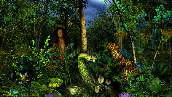 Emerald Snake Land