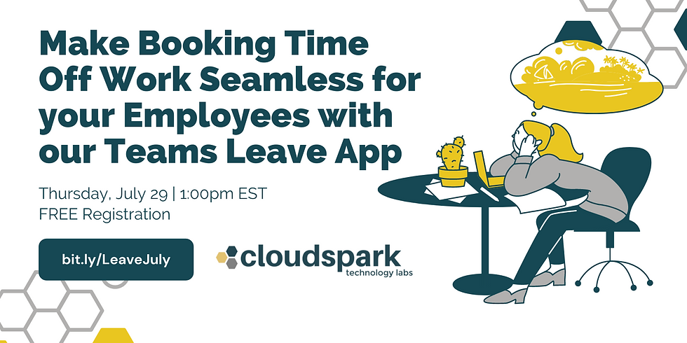 Make Booking Time Off Work Seamless for your Employees with our Teams Leave App