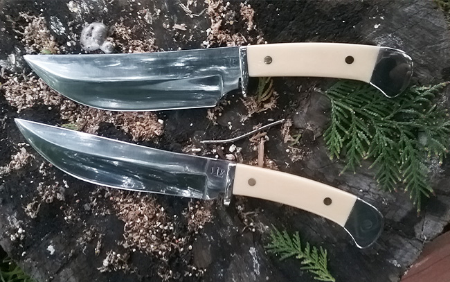Custom made knives
