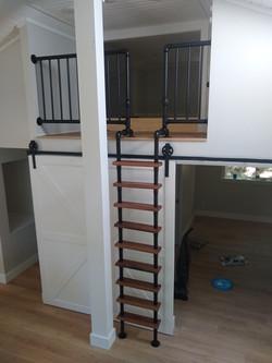 Custom made loft ladder