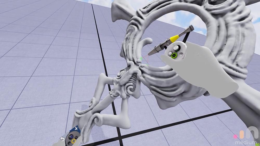 First jewelry made using Virtual reality / Robin Haefeli