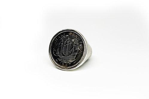 Silver Half Penny