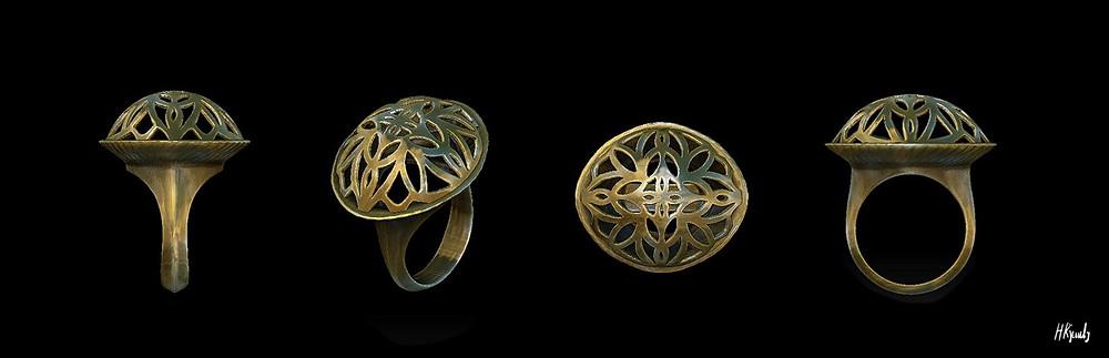 HRjewelry Geneva, Robin Haefeli, Zbrush, Bespoke jewelry