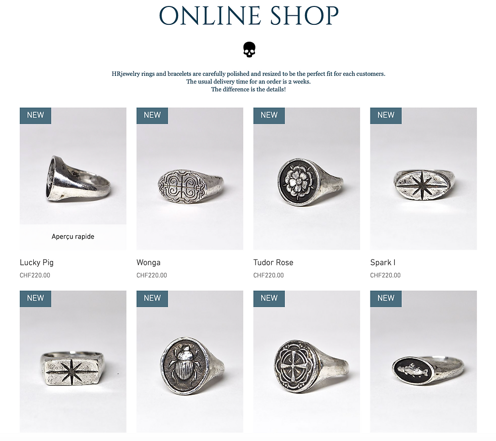 HRjewelry Geneva New Collection Providencia