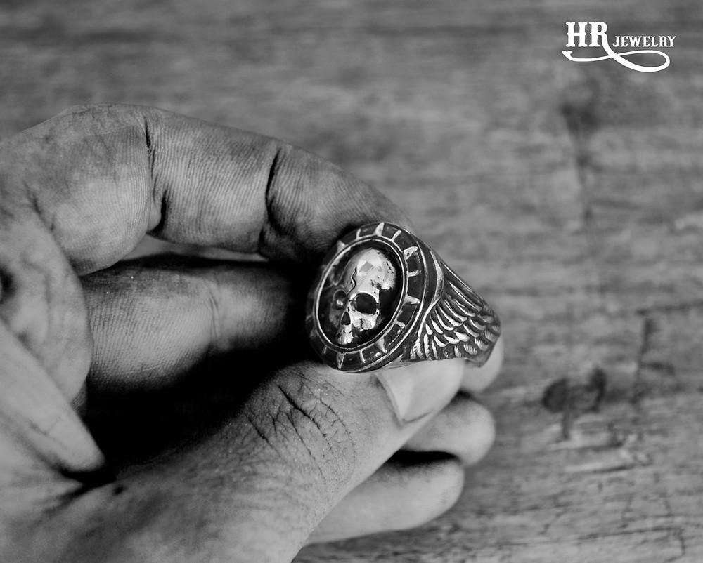 Bague Homme sur mesure à Genève / HRjewelry Geneva