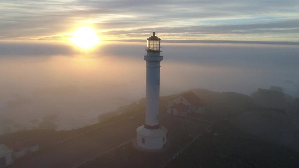 Lighthouse Sunset Video