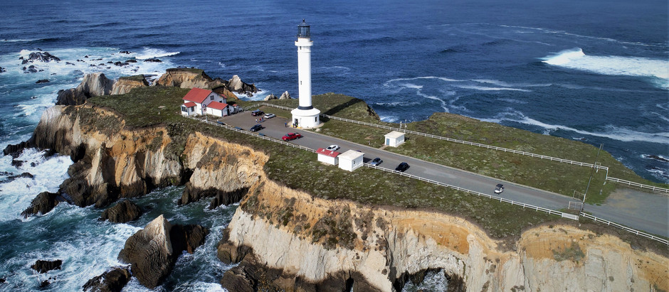 Sea Caves Threaten Historical Lighthouse in Northern California
