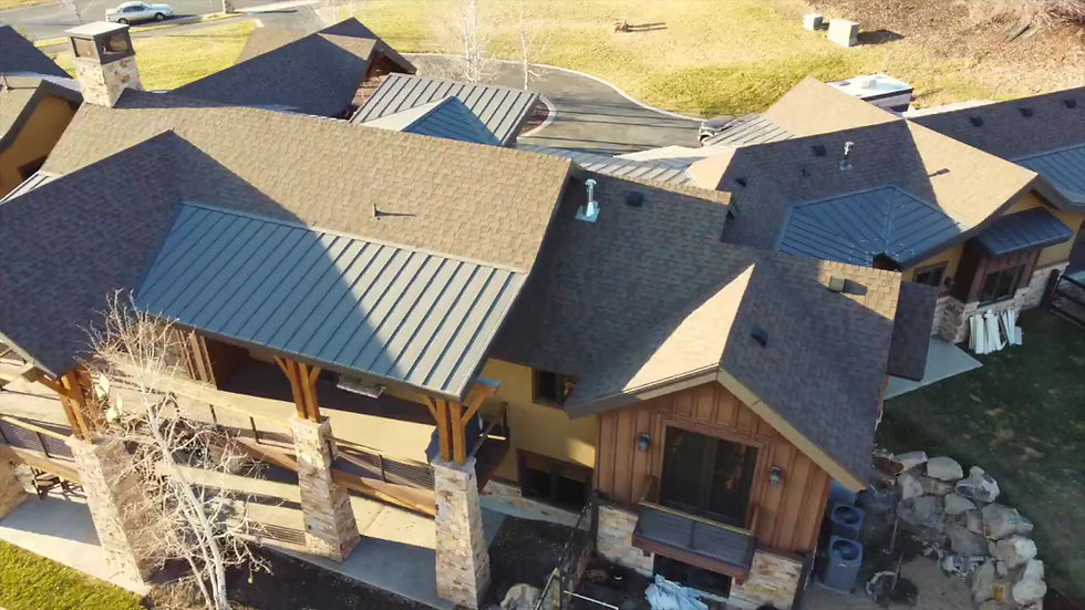 Drone Roof Inspection EXPANDED(80 Aerial Photos of Roof and 1-min flyover video)
