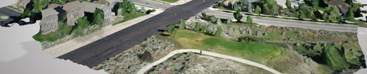 3-D Modeling Streets and Highways