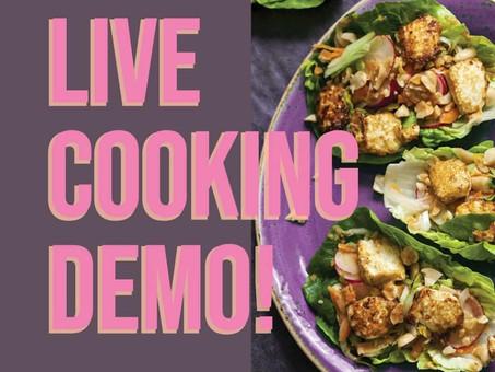 Evolve Pink Cooking Demo