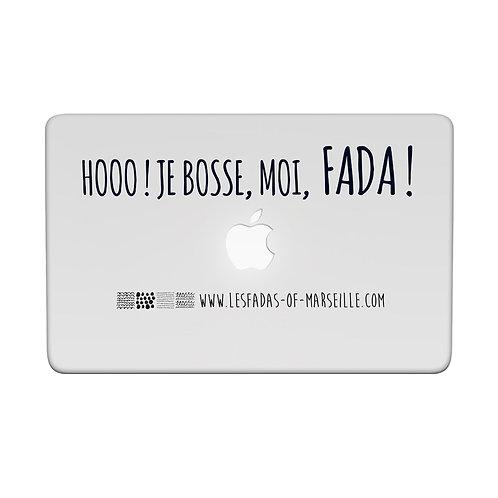 Visuel 2 pour façade d'ordinateur ou iPad - Les Fadas of Marseille