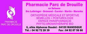 Pharmacie Parc de Drouille
