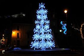 Illuminations Noël à Sisteron