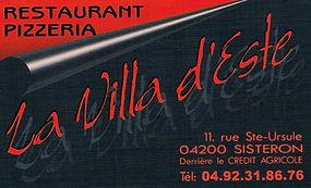 Restaurant Villa d'Este