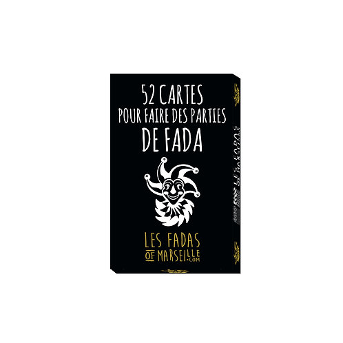 Paquet de 52 cartes à jouer - Les Fadas of Marseille