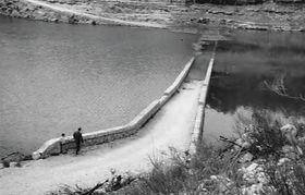 Création du Lac d'Esparron
