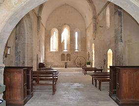 L'église de Ménerbes