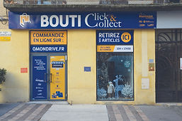 Boutique click and collect