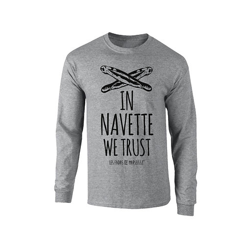 Tee shirt In navettes we trust ! - Les Fadas of Marseille