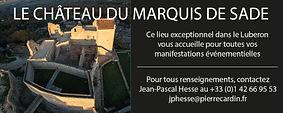 Le château du Marquis de Sade