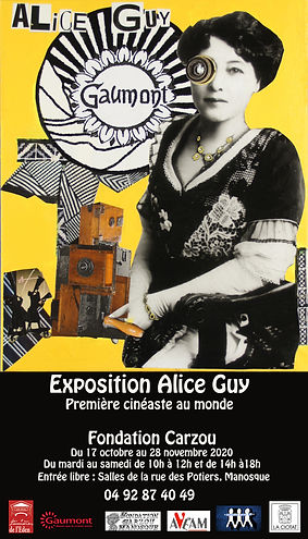 Carzou affiche expo Alice Guy