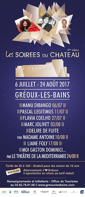 Les Soirées du Château de Gréoux