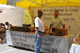 Marché de St Etienne les Orgues