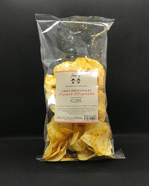 Chips au Piment d'Espelette - Family Chips