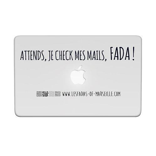 Visuel 3 pour façade d'ordinateur ou iPad - Les Fadas of Marseille