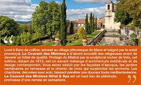 Hôtel Couvent des Minimes
