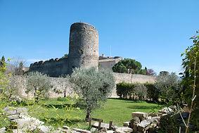 Le château de Cabrières d'Avignon