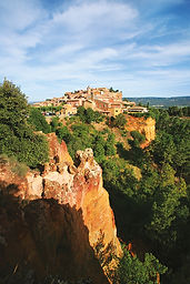 Le village de Roussillon