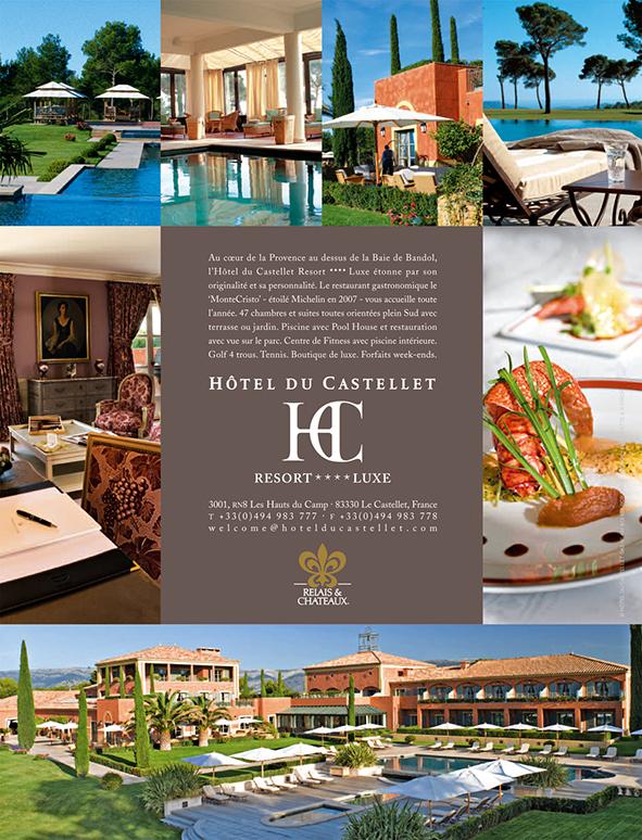 Annonce presse Hotel du Castellet