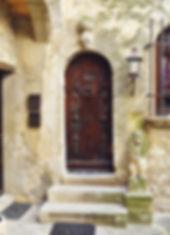 Porte de maison de Bonnieux