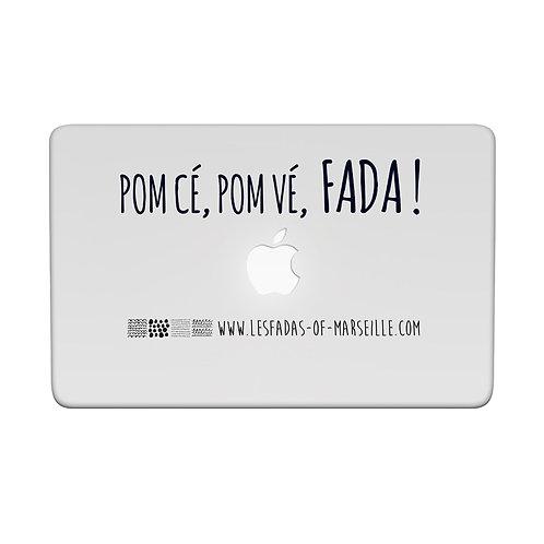 Visuel 1 pour façade d'ordinateur ou iPad - Les Fadas of Marseille