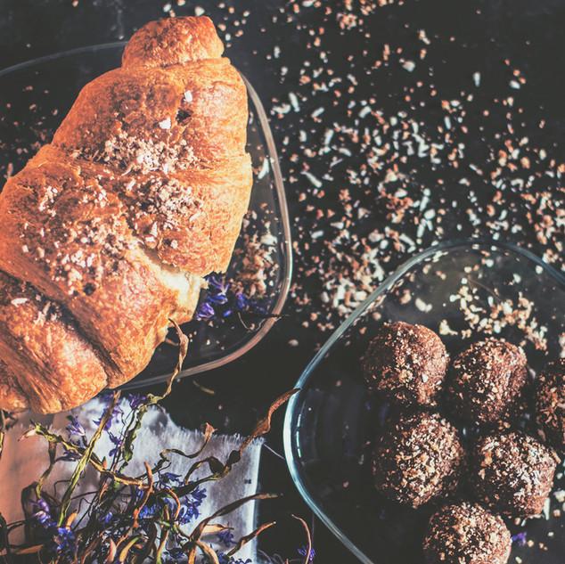 Chocolate Almond Protein Balls