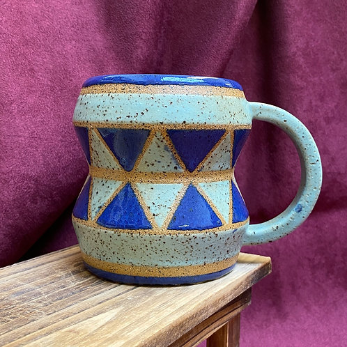 Blue Drum Mug