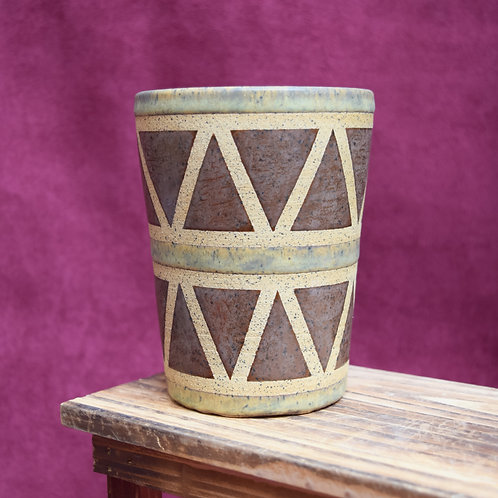 Tan Drum Cup