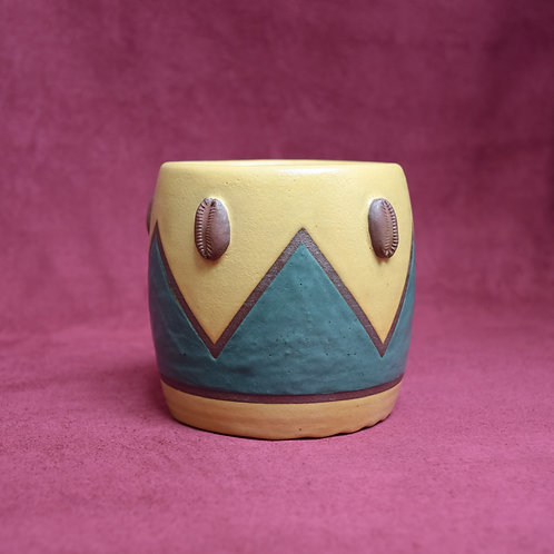 Mini Cowrie Pot