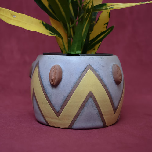 Mini Cowrie Pot